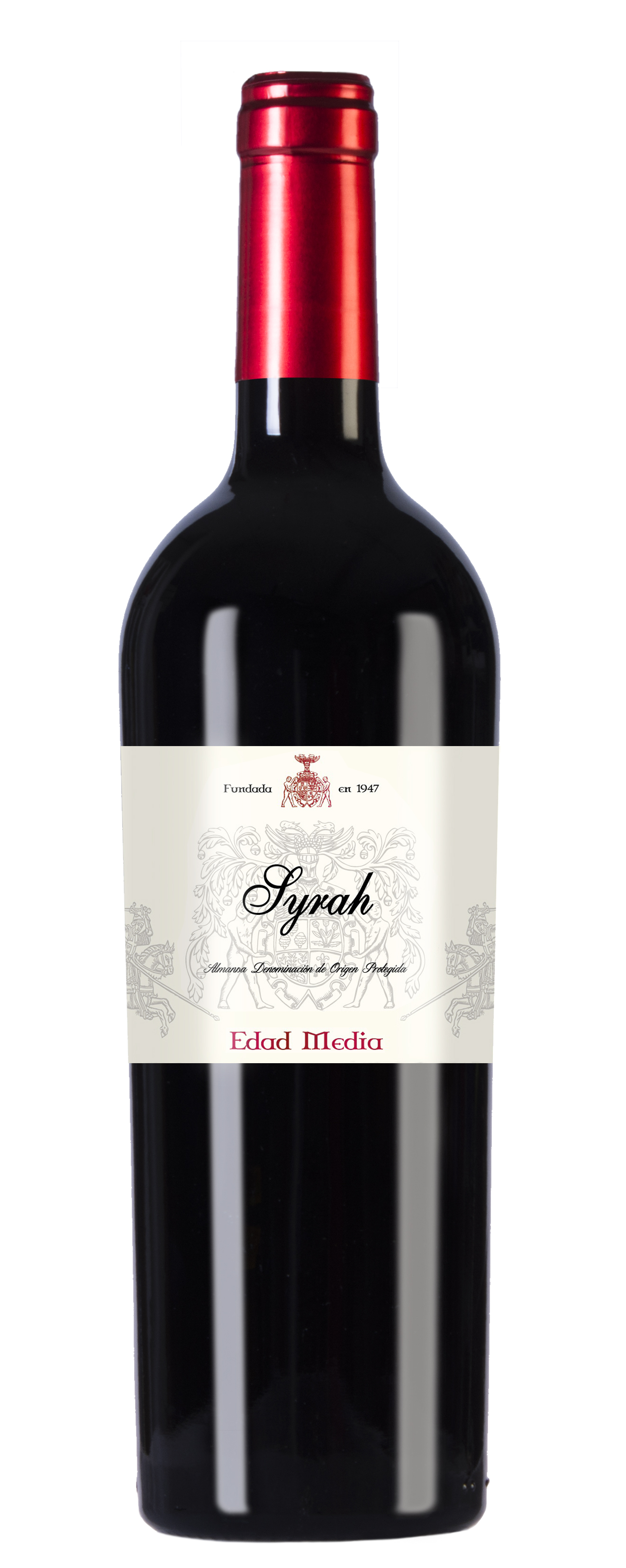 EDAD MEDIA RED OAKED SYRAH · Syrah